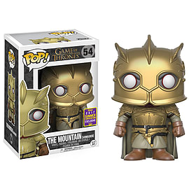 POP! Vinyl – Game of Thrones The Mountain Gold Armor - Only at GAME Scaled Models