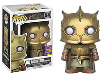 POP! Vinyl – Game of Thrones The Mountain Gold Armor - Only at GAME screen shot 1
