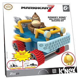 K'Nex Donkey Kong Bolt Buggy Kart Building Set Blocks and Bricks