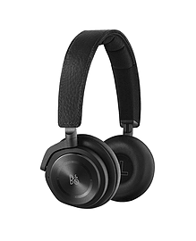 B&O PLAY by Bang & Olufsen Beoplay H8 ANC On-Ear Headphones - Black Leather Audio