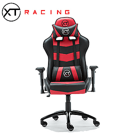 XTRacing PRIME Recliner Racing Gaming Office Chair GT Esports Desk Seat Omega Red Multi Format and Universal