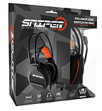 Indeca Sniper Elite FPS Universal Gaming Headset (PS4 / Xbox One / Switch / PC / Mac) screen shot 1