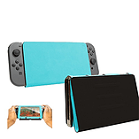 Screen Cover Stand for Nintendo Switch - Multifunctional Tablet Case - Blue screen shot 1