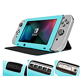 Screen Cover Stand for Nintendo Switch - Multifunctional Tablet Case - Blue screen shot 2