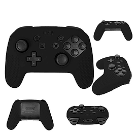 FlexiCase for Nintendo Switch Pro Controller - Black Nintendo Switch