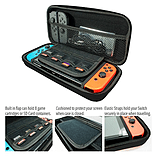 Protective Carry Case for Nintendo Switch - Black screen shot 1
