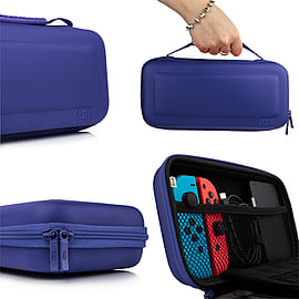 Protective Carry Case for Nintendo Switch - Blue Nintendo Switch