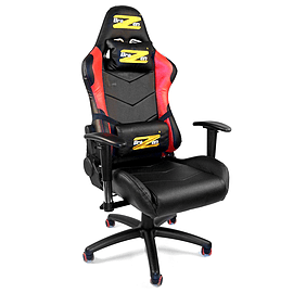 BraZen Shadow PRO Racing PC Gaming Chair Red/Black Multi Format and Universal