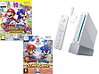 Nintendo Wii Console 1 Remote 1 Nunchuk & Mario & Sonic at the Summer Winter Olympics Wii