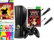 Slim Black Xbox 360 Console Girls Bundle with X factor Disney Sing Disney Fantasia & 2 microphones XBOX360