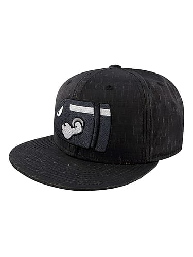 68a7156149c16 Buy Super Mario Nintendo Bullet Bill Embroidered Black Snapback Cap  One  size Fits All