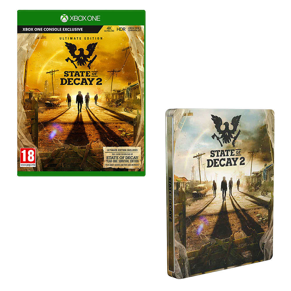 State of Decay 2: Collector's Edition – With Only at GAME Pre-Order Bonuses