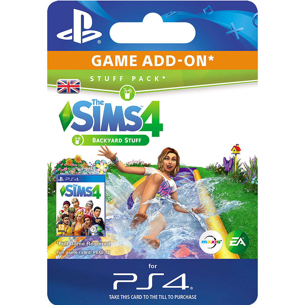 Buy The Sims 4 Backyard Stuff on PlayStation 4 | GAME
