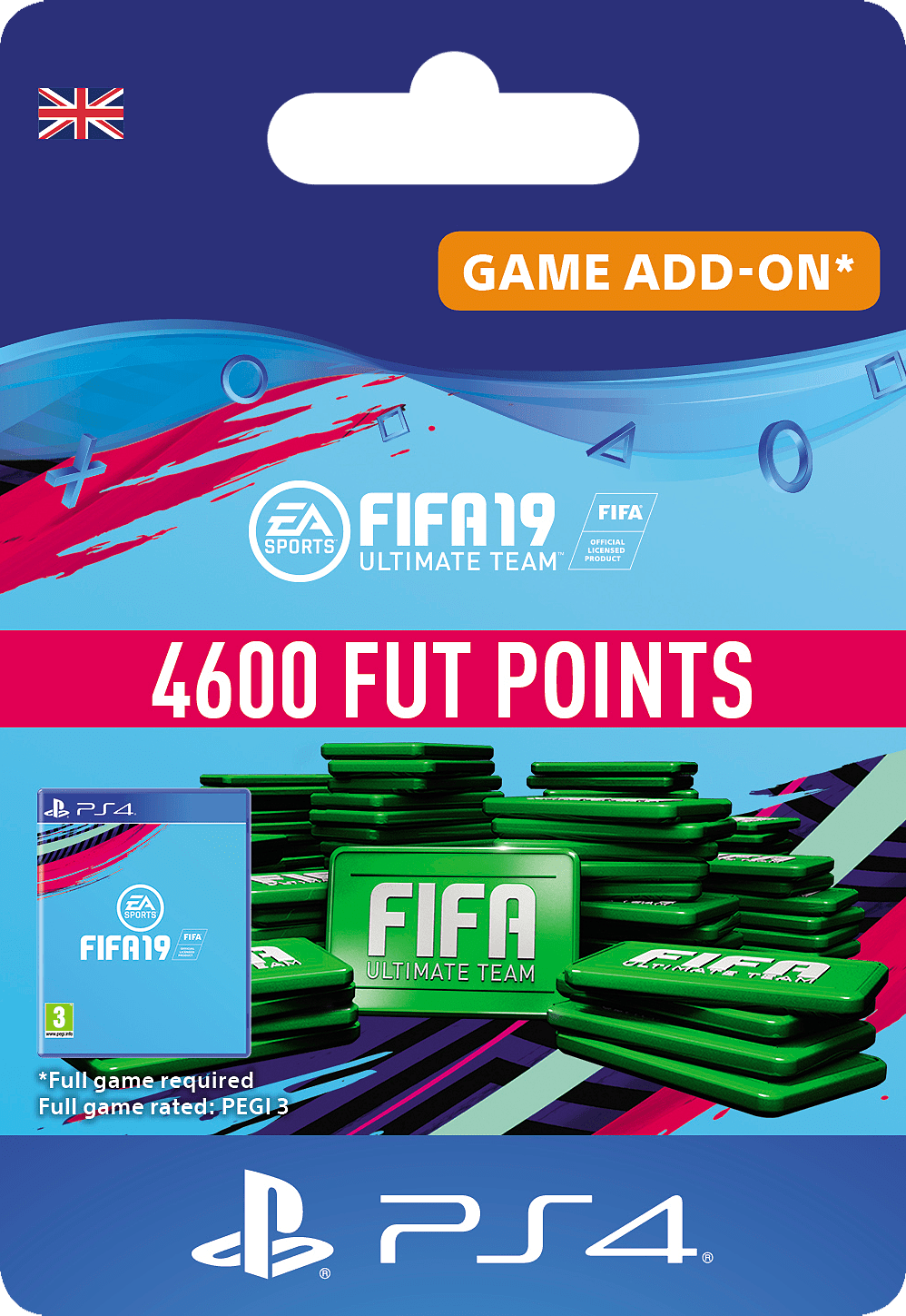 Buy FIFA 19: 4600 FUT Points on PlayStation 4 | GAME