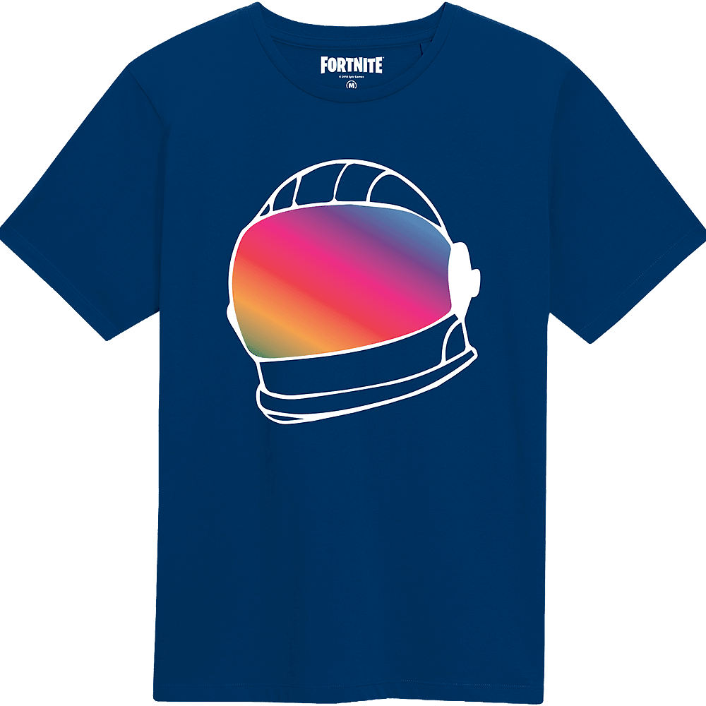 f0f0469f Fortnite Helmet Navy Kids T-Shirt - M | GAME