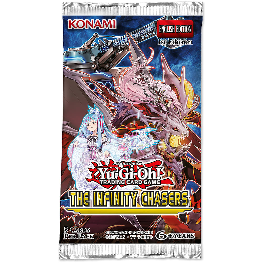 buy yugioh trading card game the infinity chasers booster