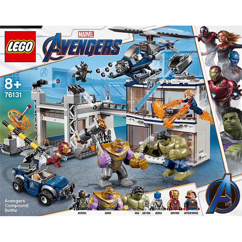 Buy LEGO 76131 Avengers Compound Battle   GAME
