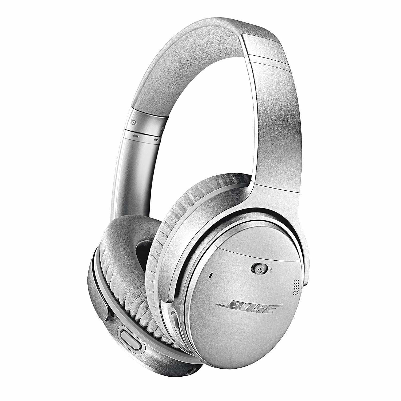 907b9dec622 Buy Bose QuietComfort 35 (Series II) Wireless Headphones, Noise Cancelling  with Amazon Alexa - Silver | GAME