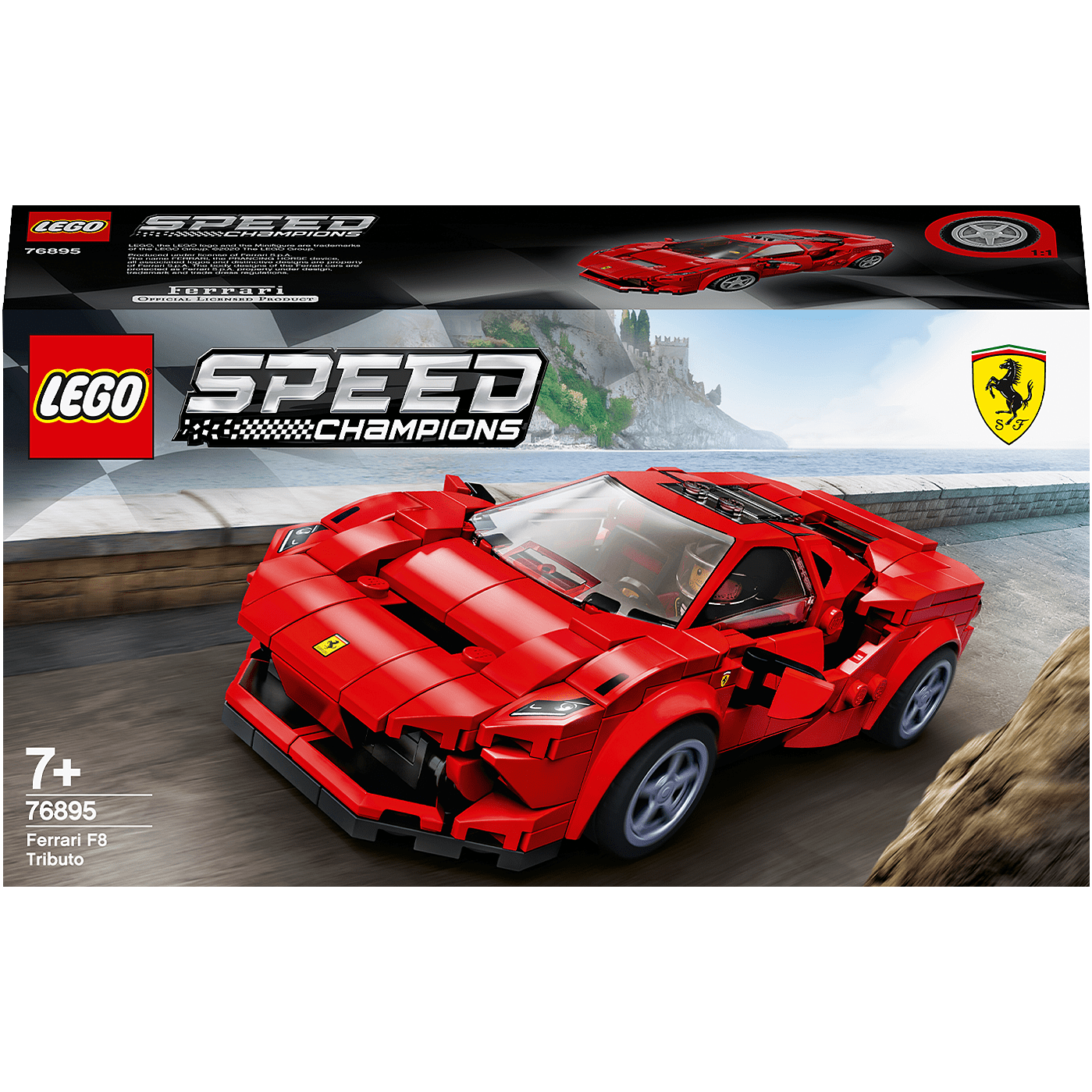 Ferrari Tributo V8: Buy LEGO 76895 Speed Champions: Ferrari F8 Tributo Race