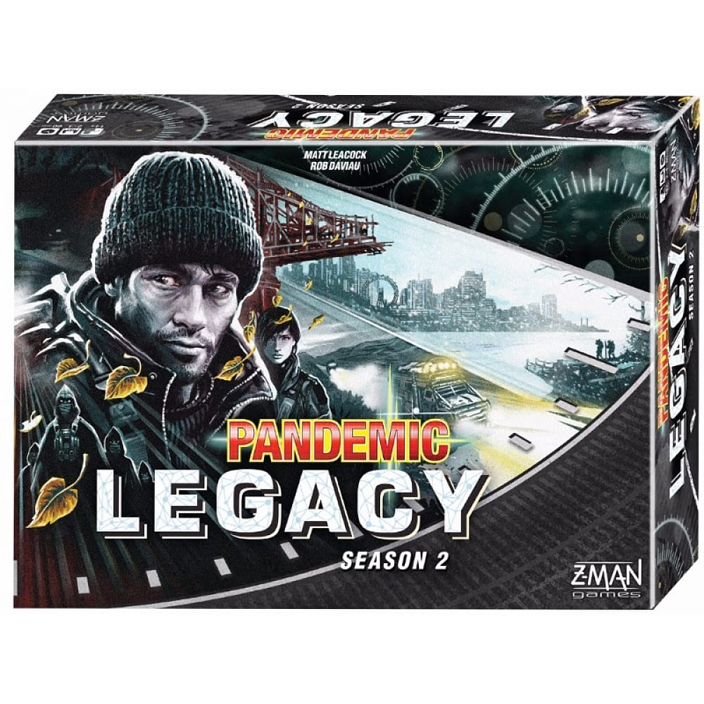Buy Pandemic Legacy Season 2 - Black Board Game