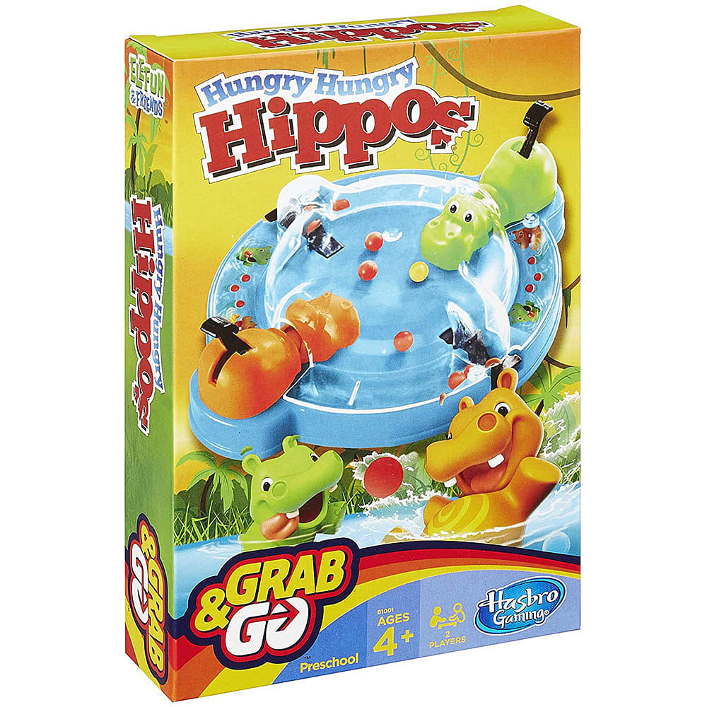 Hungry hungry hippos game from hasbro, grab n go, Aden and ...