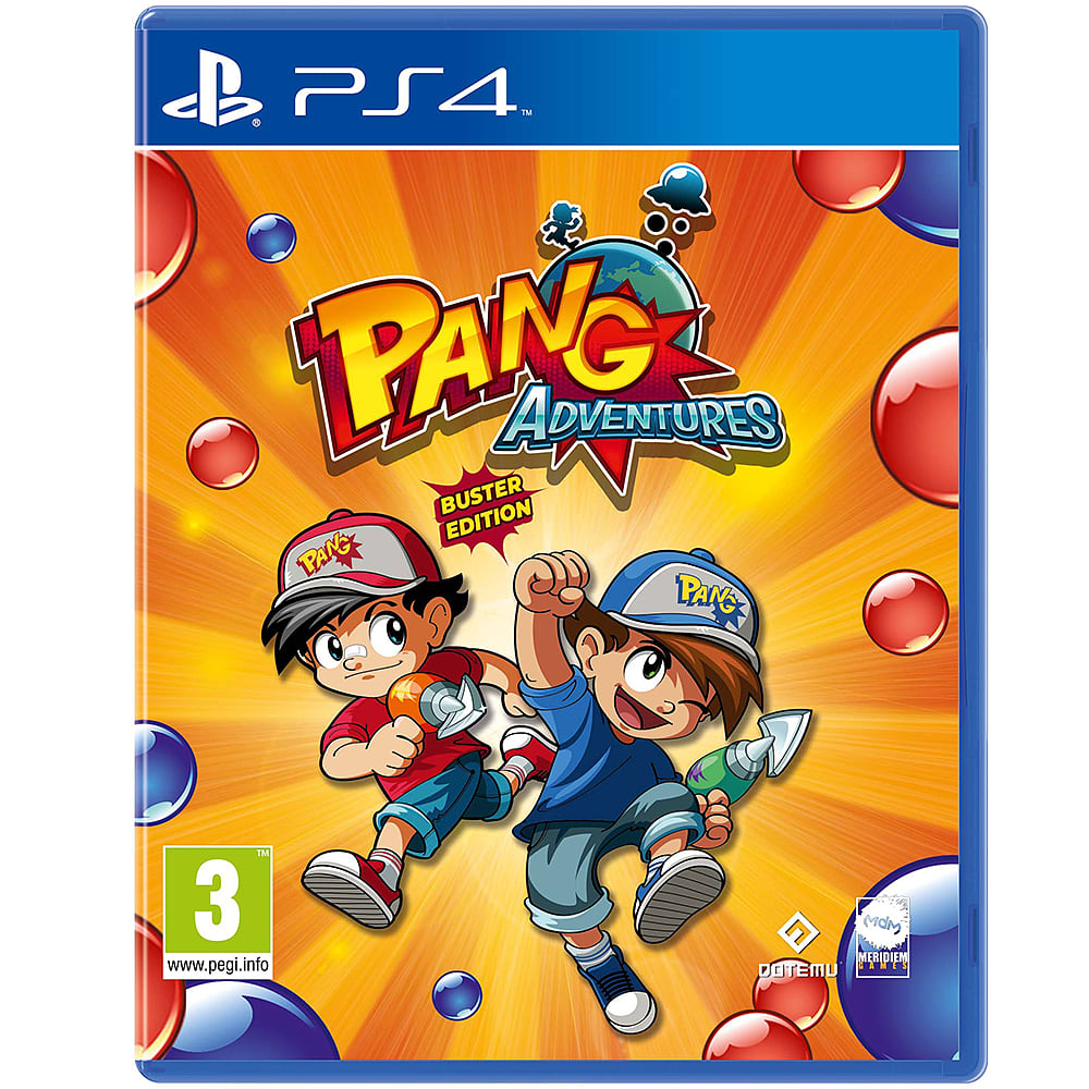 Buy Pang Adventures: Buster Edition on PlayStation 4   GAME