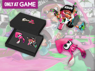 Pre-order Splatoon 2 to receive a Splatoon 2 pin badge set