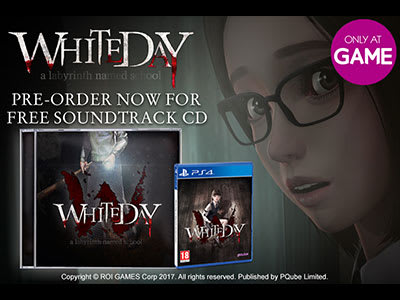 Pre-order White Day: A Labyrinth Named School and get the exclusive official soundtrack CD