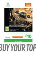 World of Tanks Top up - &pound10