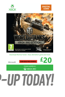 World of Tanks Top up - &pound20