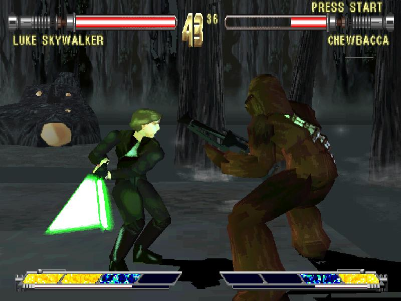 Square of in Star Wars fighting game  Masters of Teras Kasi