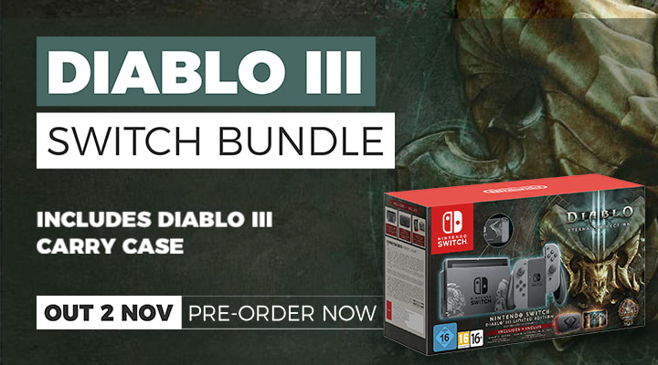 Diablo III Console on Nintendo Switch