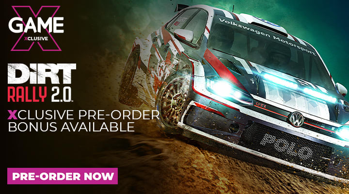 Dirt Rally 2.0 - Pre-Order at GAME