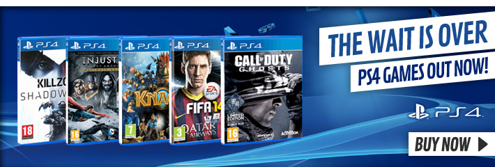 Playstation 4 Launch Games - Buy Now at GAME.co.uk!