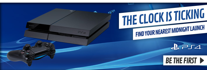 Playstation 4 Midnight Launches - Find Out More at GAME.co.uk!