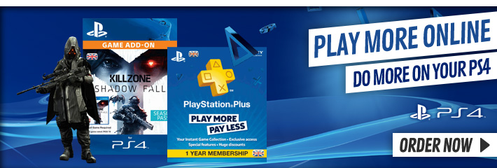 Playstation 4 Digital Content - Download Now at GAME.co.uk!