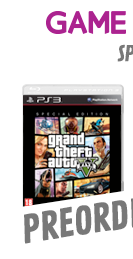 Preorder GAME Exclusive Special Edition Grand Theft Auto V For PS3