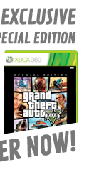 Preorder GAME Exclusive Special Edition Grand Theft Auto V For Xbox 360