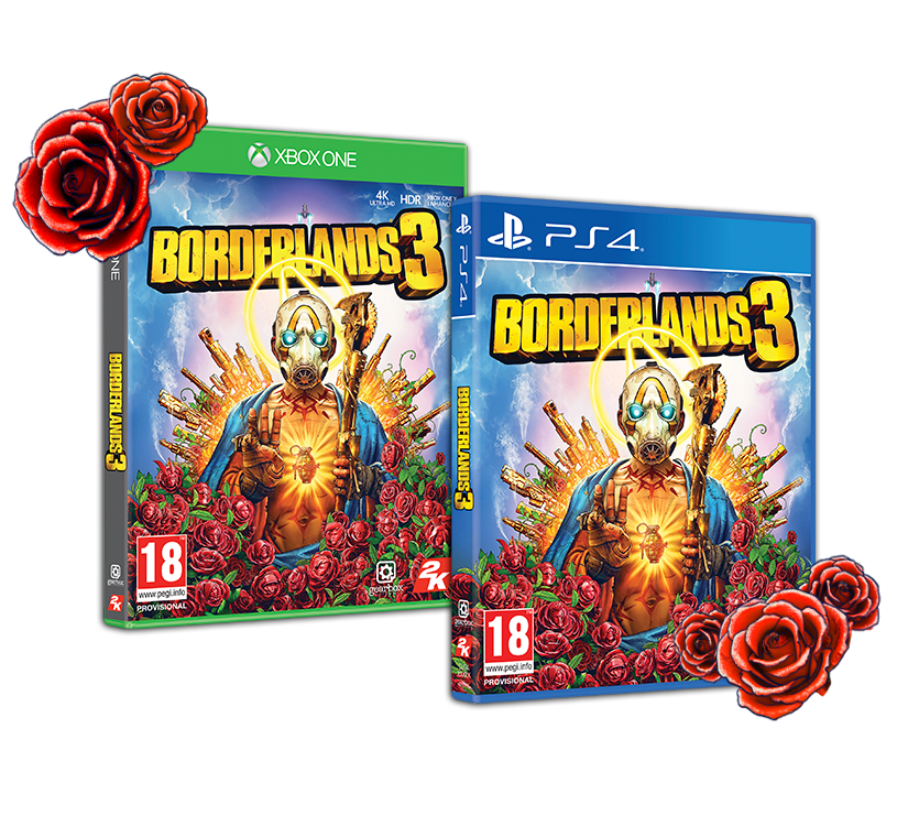 Borderlands 3 Super Deluxe Edition - with GAME Exclusive Psych