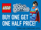 Buy One Get One Half Price On Selected LEGO Video Games