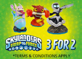 Skylanders Swapforce Starter 3 for 2