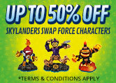 Skylanders SWAP Force Buy One Get One FREE