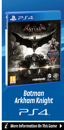 Find Out More About Batman Arkham Knight On PlayStation 4