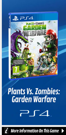Find Out More About Plants Vs Zombies: Garden Warfare On PlayStation 4