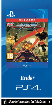 Find Out More About Strider On PlayStation 4