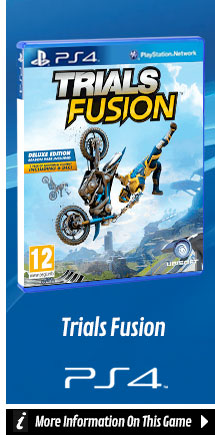 Find Out More Trials Fusion On PlayStation 4