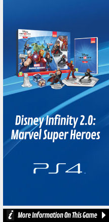 Find Out More about Disney Infinity 2.0: Marvel Super Heroes On PlayStation 4