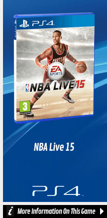 Find Out More about NBA Live 15 On PlayStation 4