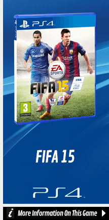 Find Out More about FIFA 15 On PlayStation 4