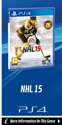 Find Out More about NHL 15 On PlayStation 4